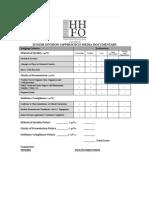 hhfo junior division apprentice media documentary evaluation form