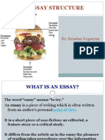 In-class Essay Writing_ Essay Structure