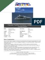 150 Heysea Yachts Company Limited - New Construction 2011