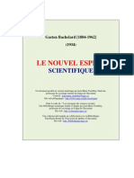 Le Nouvel Esprit Scientifique, Gaston Bachelard