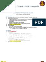 Resumen Convenio Cto - Cmp 2013