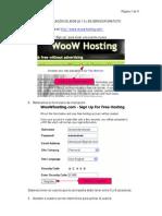 Crear web con joomla en servidor gratuito