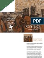Programa Festival Cultural Zacatecas 2009