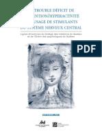 2001 09 Lignes Directrices TDAH