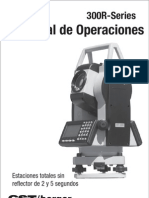 Operation Manual CST300R Spanish