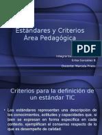 Estandares y Criterios Área Pedagógica