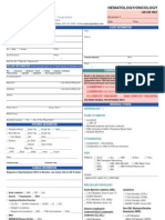 Hematology Requisition Form