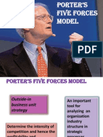 poters five forces
