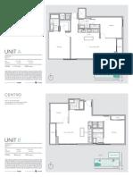 Centro Floor Plans