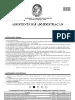 Assistente em Administração - Gabarito 1