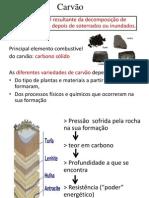 trabalho quimica - carvão