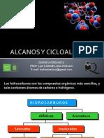 Alcanos y Cicloalcanos