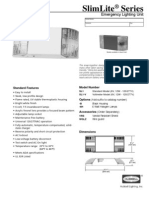slimlite sl1 spec sheet-93007073-102207