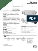 cv series 0603194 spec sheet