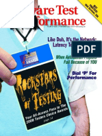 Software Test & Performance issue Nov 2008