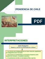 Independencia de Chile Con Interpretaciones