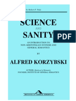 Alfred Korzybski - Science and Sanity