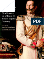 The Kaiser. New Research on Wilhelm II's Role in Imperial Germany