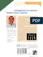 2005 Cirugia y Rehabilitacion en Implantes Replace Select Tapered