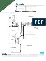 San Tan Heights Coronado Floorplan