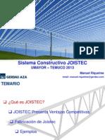 Presentación JOISTEC en U. Mayor en  Temuco (Abril 2013)