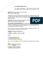 OBTENCIÓN DEL CLORURO FÉRRICO