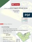 OC Transpo 2012 Customer Satisfaction Survey