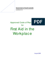 Firstaid Code of Practice