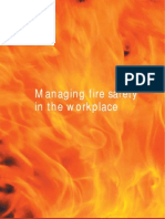 EVERY THING ABOUT Managing Fire Safety in the Workplace