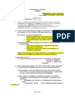 Detailed Contracts II Outline - Powers - Spring 2011