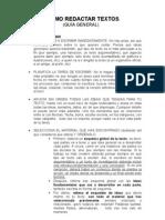 19950115 Como Redactar Textos