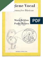 Higiene Vocal - Mara Behlau e Paulo Pontes
