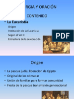 LITURGIA Y ORACIÓN EUCARISTIA