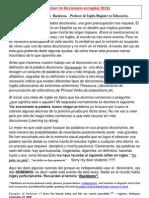 Como Usar Un Diccionario2013