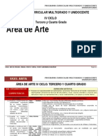 IV Ciclo Arte-Agp-ugel Anta
