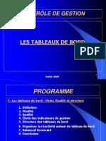 Tableaux de Bord Formation Encg Juillet 2009