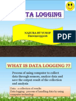 DATA LOGGER(POWER POINT)