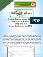 Maquinas Electricas - Problema 1-8