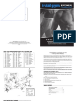 Total Gym Platium Manual