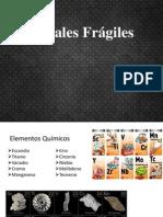 Metales Fragiles