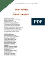 Cesar Vallejo Poesia Completa