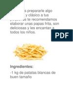 Papas Frita