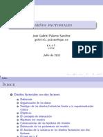 Disenos factoriales
