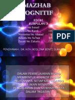 Mazhab Kognitif (KDCM 1 - KUMP 3)