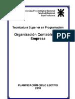Organizacion Contable de La Empresa