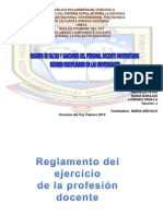 130820 LOE y Reglamento Del Ejercicio Profesional Docente