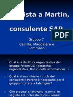 Inter Vista a Martin, Consulente SAP