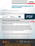 Microsoft SQL Server Data Warehouse on Hitachi Converged Platform