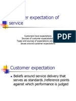 Customer Expectation of Service
