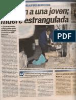 Feminicidio Df
